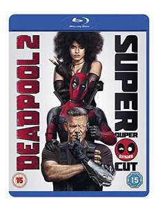 Deadpool 2 Blu-ray (Extended Cut) £2.75 (+£2.99 non-prime) @ Amazon