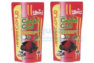 Hikari Cihlid Gold x2 250g Fish Food Pouches £15.99 @ kb.aquazoneuk / eBay