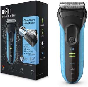 Braun Series 3 Wet and Dry Electric Shaver 3040s £54.99 at Argos