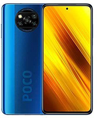 Xiaomi Poco X3 NFC - Smartphone 128GB, 6GB RAM, Dual Sim, Cobalt Blue Smartphone - £204.73 @ Amazon