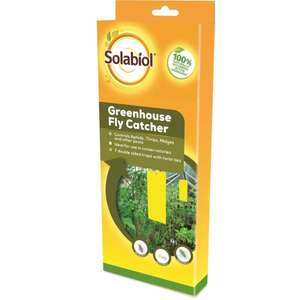 Solabiol Greenhouse Fly Catcher - £1 + free collection @ Homebase