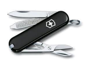 Victorinox Classic SD Pocket Knife Black/Blue £10.84 at Amazon / +£4.49 non prime