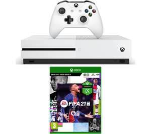 MICROSOFT Xbox One S & FIFA 21 Bundle - 1 TB - £249 @ Currys PC World