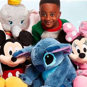 Disney 50% off large soft toys - now £20 (£3.95 delivery / free £50+) @ ShopDisney