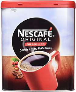 Nescafe Original Coffee Granules 3 x 1kg Tubs £20.39 or £16.31 First Subscribe & Save Order @ Amazon