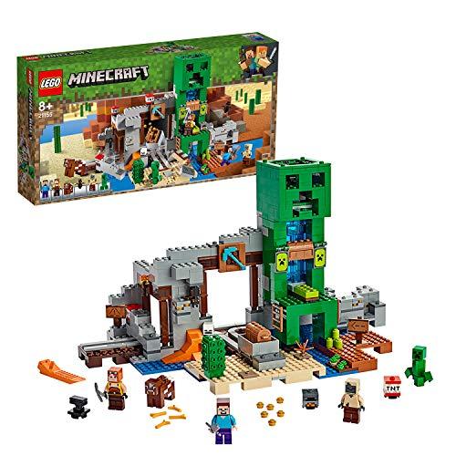 LEGO 21155 Minecraft The Creeper Mine Building Set £63.99 at Amazon