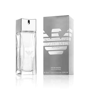 Emporio Armani Diamonds Eau de Toilette 75ml £27.49 With Code Free C&C @ Boots
