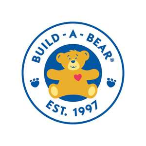 25% at Build A Bear (exclusions apply in Description) using code
