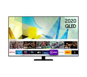 "Samsung QE55Q80T 55"" 4K UHD QLED TV - £999 delivered @ Currys"