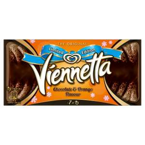 Viennetta Chocolate and Orange Flavour Ice Cream Dessert 650ml 99p at FarmFoods (wednesbury should be nationwide)