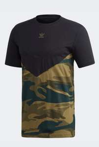 Adidas Camouflage Block T Shirt Now £9.76 with code ordered via the Adidas free delivery with creators club @ Adidas Shop