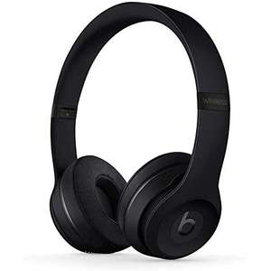 Beats Solo3 Wireless On-Ear Headphones - Apple W1 Headphone Chip, Class 1 Bluetooth - Black (Latest Model) £129 at Amazon