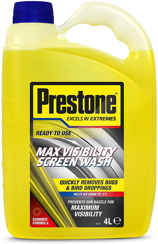 Prestone summer screenwash £1.25/gallon instore @ Morrisons Small Heath