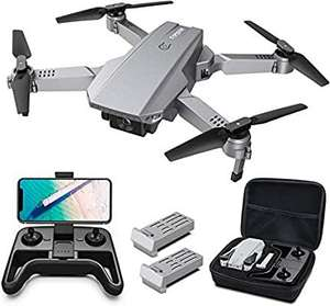 Tomzon D25 Mini Drone FPV Foldable RC Drone with 4K Camera for Beginners - £79.99 Sold by Botasy® (VAT Registered) and Fulfilled by Amazon