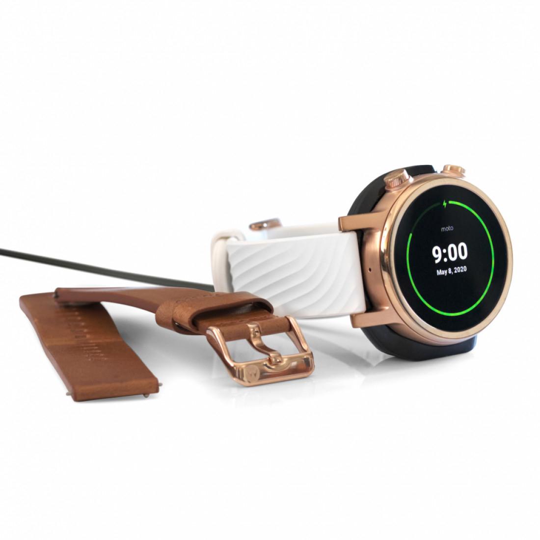 Moto 360 3rd Gen Smart Watch (Wear OS) - (Black & Silver Colour) - direct - £179.99 Direct @ Moto360