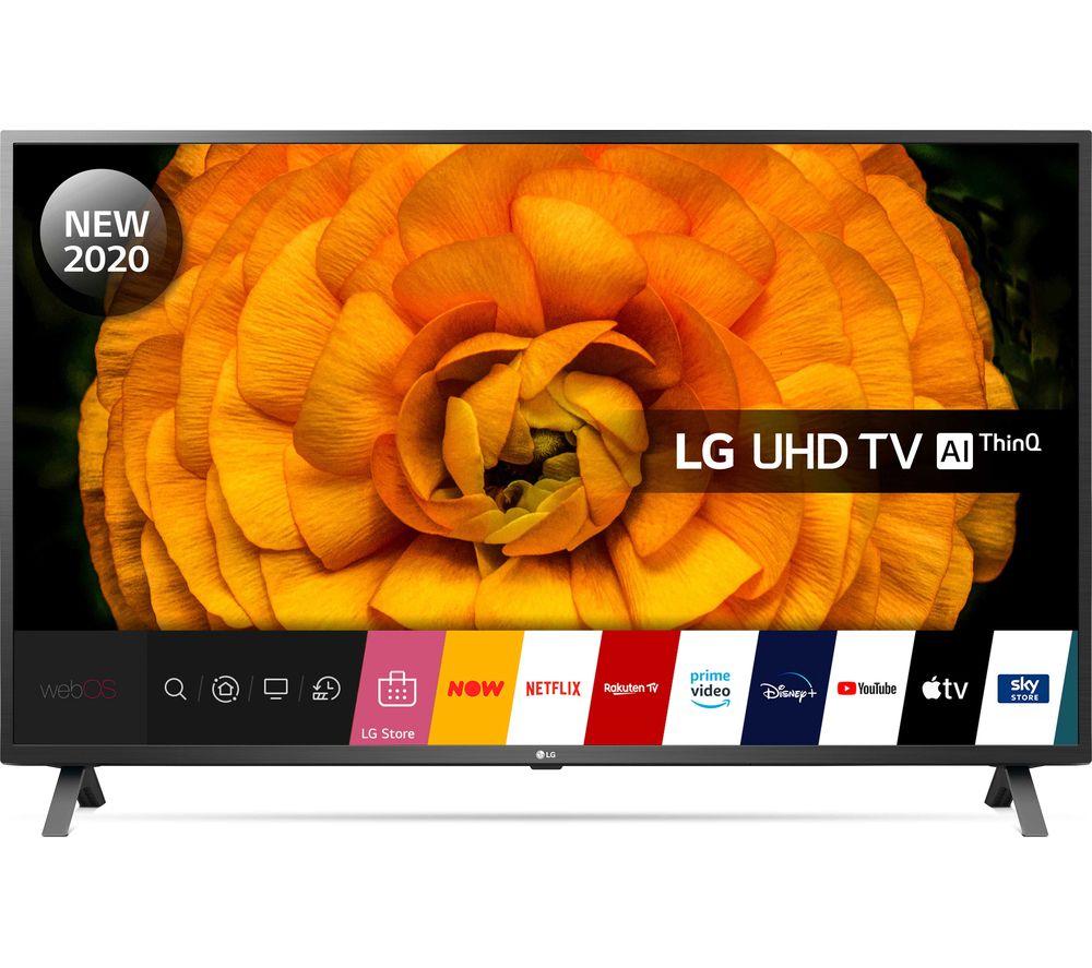 "LG 65UN85006LA 65"" Smart 4K Ultra HD HDR LED TV with Google Assistant & Amazon Alexa £649 @ Currys"