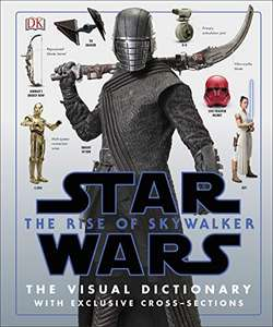 Star Wars The Rise of Skywalker The Visual Dictionary (Hardcover) book £10 delivered @ Amazon