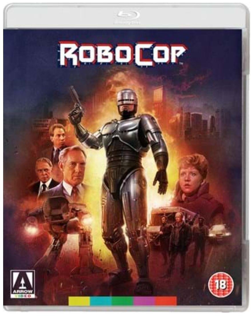 Robocop Directors Cut Blu-ray - £7.50 (+£2 Postage) @ Arrow Films