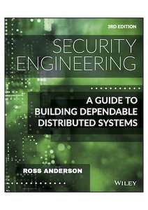 3rd edition of the bestseller Security Engineering as a pdf free of charge until the end of October