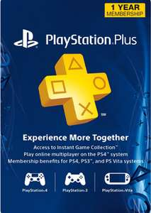 1-Year Playstation Plus Membership (PS+) - PS3/PS4/PS5 Digital Code (USA) - £22.99 @ CDKeys