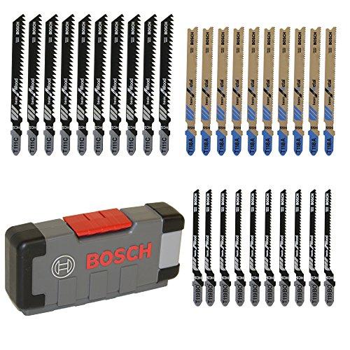 "Bosch Professional 2607010903"" Tough Box Jigsaw Blade-Set with Single Lug Shank, Black/Silver - £16.76 (+£4.49 NP) - Sold by bauxxl / FBA"