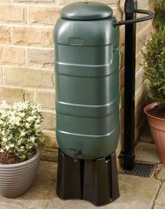 Compact Water Butt Rain Saver Kit - 100L - £20 (Free Collection) @ Wickes