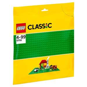 LEGO Classic 10700 Green Baseplate £3.50 @ Tesco instore and online