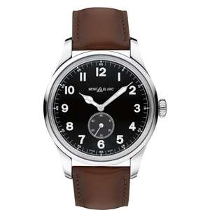 Montblanc 1858 Automatic Small Seconds Stainless Steel Watch £1392 @ Leonard Dews