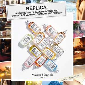 FREE Sample of Maison Margiela's Perfume Replica collection at Sopost