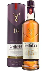 Glenfiddich 15 Year Old Single Malt Scotch Whisky - £34 @ Amazon