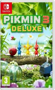 Pikmin 3 Deluxe + Pikmin 3 Deluxe Sticker sheet and Microfibre cloth £39.85 @ ShopTo