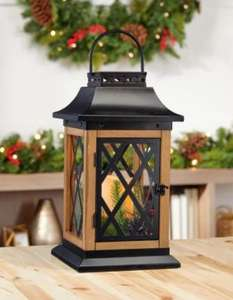 15 Inch (38.1 cm) Festive Christmas Lantern With LED Lights £35.89 at Costco