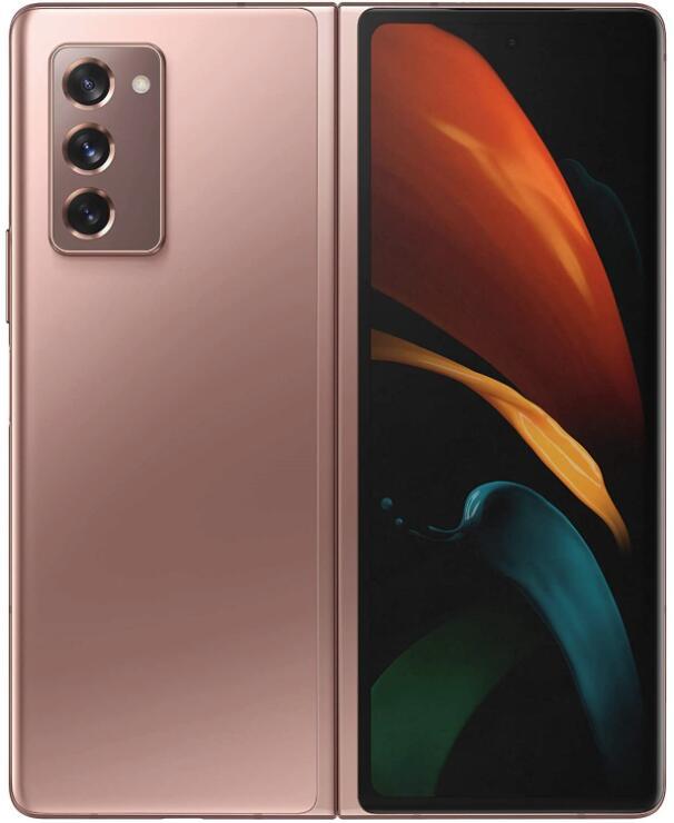 Samsung Galaxy Z Fold2 SM-F916B 5G 256GB 12GB RAM Dual SIM (Unlocked for all UK networks) - Mystic Bronze - £1390 @ WowCamera