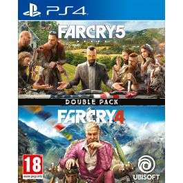 Far Cry 5 / Far Cry 4 - Double Pack Playstation 4 £19.95 @ The Game Collection