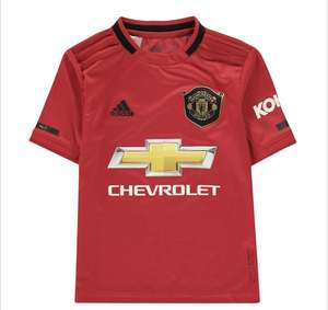 ADIDAS Manchester United Home Shirt 2019 2020 Junior £19.99 delivered @ Sports Direct