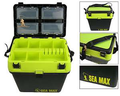 SEA MAX Sea Fishing Seat Box £21.99 delivered at quaysports eBay