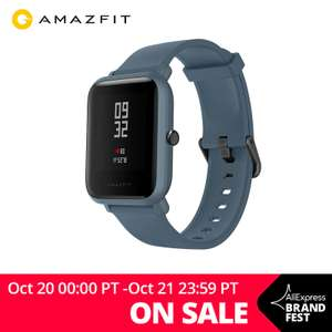 Xiaomi Huami Amazfit Bip Lite Global Version IP68 Smartwatch £24.67 delivered with code @ AliExpress Deals / amazfit Official Store