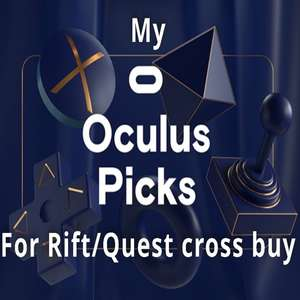 """Cross Buy titles on sale for the Oculus Quest via Rift store sale (e.g. """"Gravity Sketch"""" for £6.99 instead of £22.99) @ Oculus"""