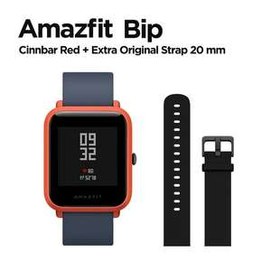 Xiaomi Amazfit Bip Smart Watch with GPS and extra strap for £30.88 delivered @ AliExpress Deals / amazfit Official Store