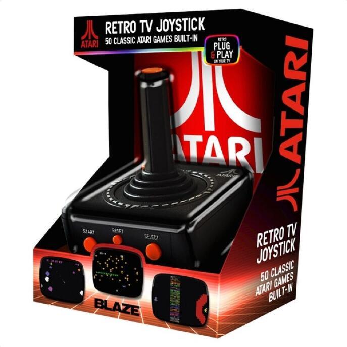Blaze Atari TV Plug and Play Joystick with 50 games £14.99 free click and collect at Robert Dyas