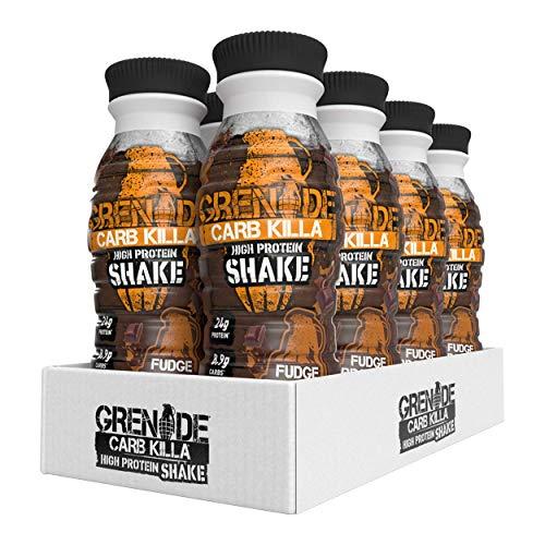 Grenade Carb Killa High Protein Shake Fudge Brownie, 8 x 330 ml at Amazon for £13.19 prime / £17.68 non prime @ Amazon