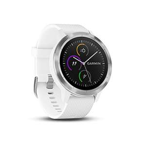 Garmin Vivoactive 3 GPS Smartwatch with Built-In Sports Apps and Wrist Heart Rate, White (Renewed) £99 delivered at Amazon