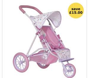 Baby Born Doll Pushchair £15 +£2 click & collect @ Wilko