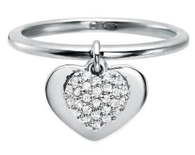 Michael Kors Silver Love Heart Ring MKC1121AN040 - £39.50 @ Charles Fish