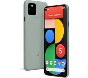 Pixel 5 128GB Sorta Sage - £569.95 with Code via Currys/PC World eBay Outlet