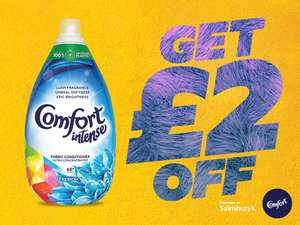 £2 off Comfort intense offer with voucher at Sainsbury's
