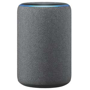 Amazon Echo (3rd generation) Smart speaker with Alexa, Charcoal Fabric, £49.99 at Screwfix (Free to collect)