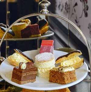 Afternoon Tea for Two at Patisserie Valerie / Cafe Rouge £10 with code @ Buyagift