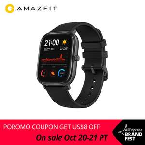 Huami Amazfit GTS Global Version Smart Watch £87.56 Delivered using code (EU Shipping) @ AliExpress Deals / amazfit Official Store