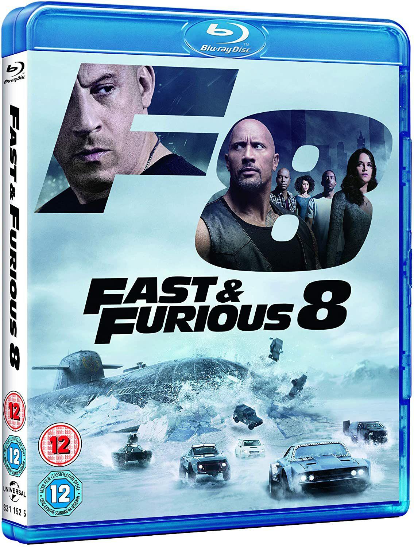 Fast and furious 8 blu ray £2.75 @ Amazon (£2.99 p&p non prime)